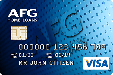 AFG Home Loans - VISA Credit Card